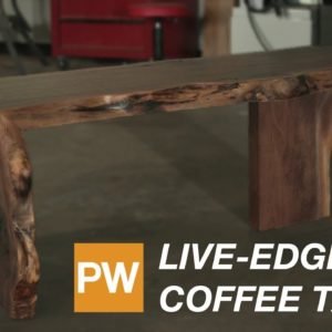 Building a Live-Edge Coffee Table