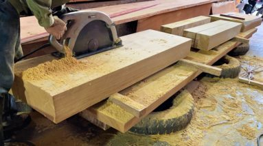 Extremely Ingenious Woodworking Workers At Another Level // Amazing Woodworking Skills Of Carpenters
