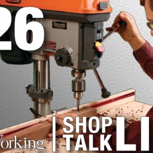 STL226: Buying a used drill press with Rollie Johnson